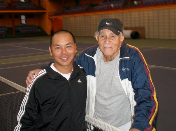 Bob with Ed Tseng